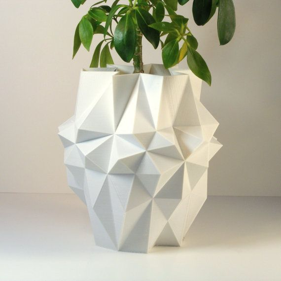 Unique Planter Printed Large Pot
