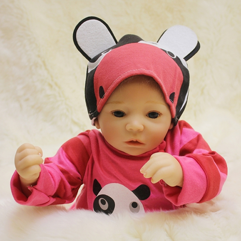 109.60$  Watch now - http://ali5to.worldwells.pw/go.php?t=32758074988 - 2016 New Reborn Baby Dolls Princess Girl Babies Silicone Cloth Body 20 Inch 50 cm Newborn Doll Toy With Curved Mohair For Sale 109.60$