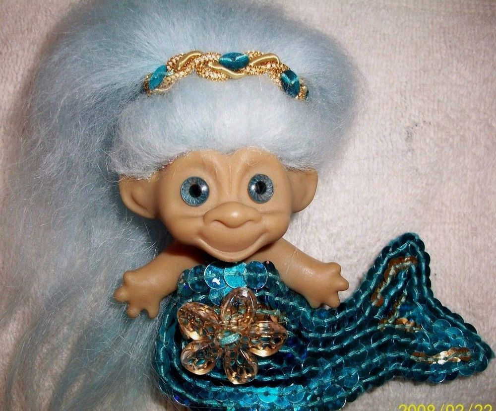 Pin Auf Troll Dolls Vintage And Collectible