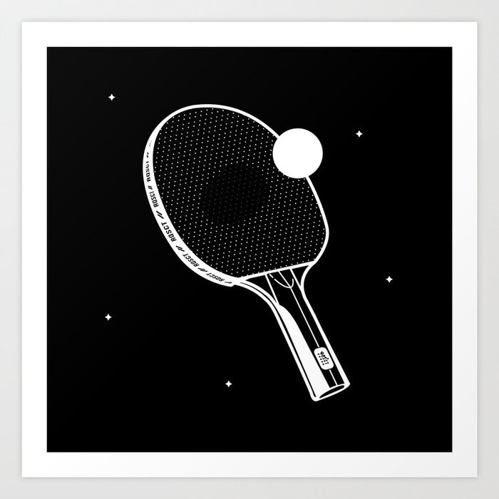 Buy Ping Pong Art Print By Rqsct Worldwide Shipping Available At Society6 Com Just One Of Millions Of High Q Ping Pong Anatomical Heart Drawing Heart Drawing