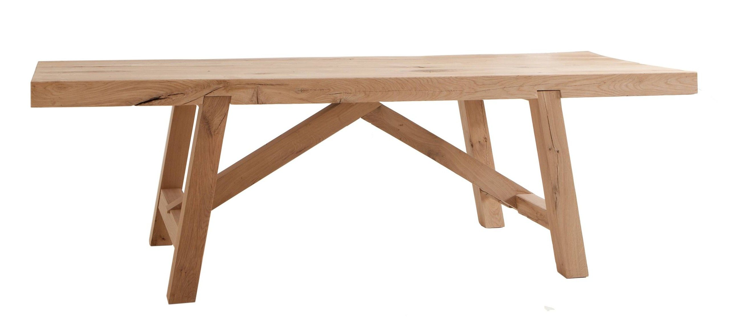 Into The Woods Oak Oscar Trestle Table Conran Blog Uk