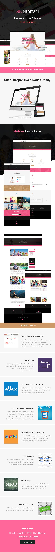 Meditari-Responsive HTML5 Template for Meditation, Fitness, Yoga ...