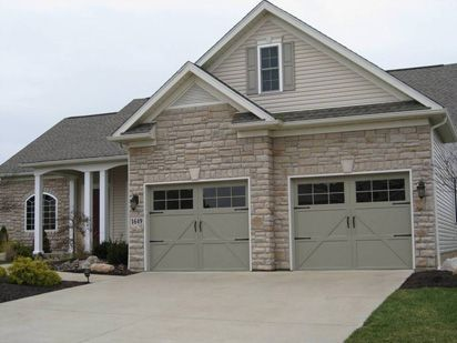 Model 9700 Charleston Design With 12 Window Square Garage Doors Garage Door Styles Contemporary Garage Doors