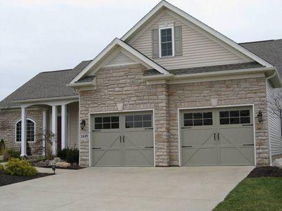 Model 9700 Charleston Design With 12 Window Square Garage Doors Garage Door Styles Residential Garage Doors