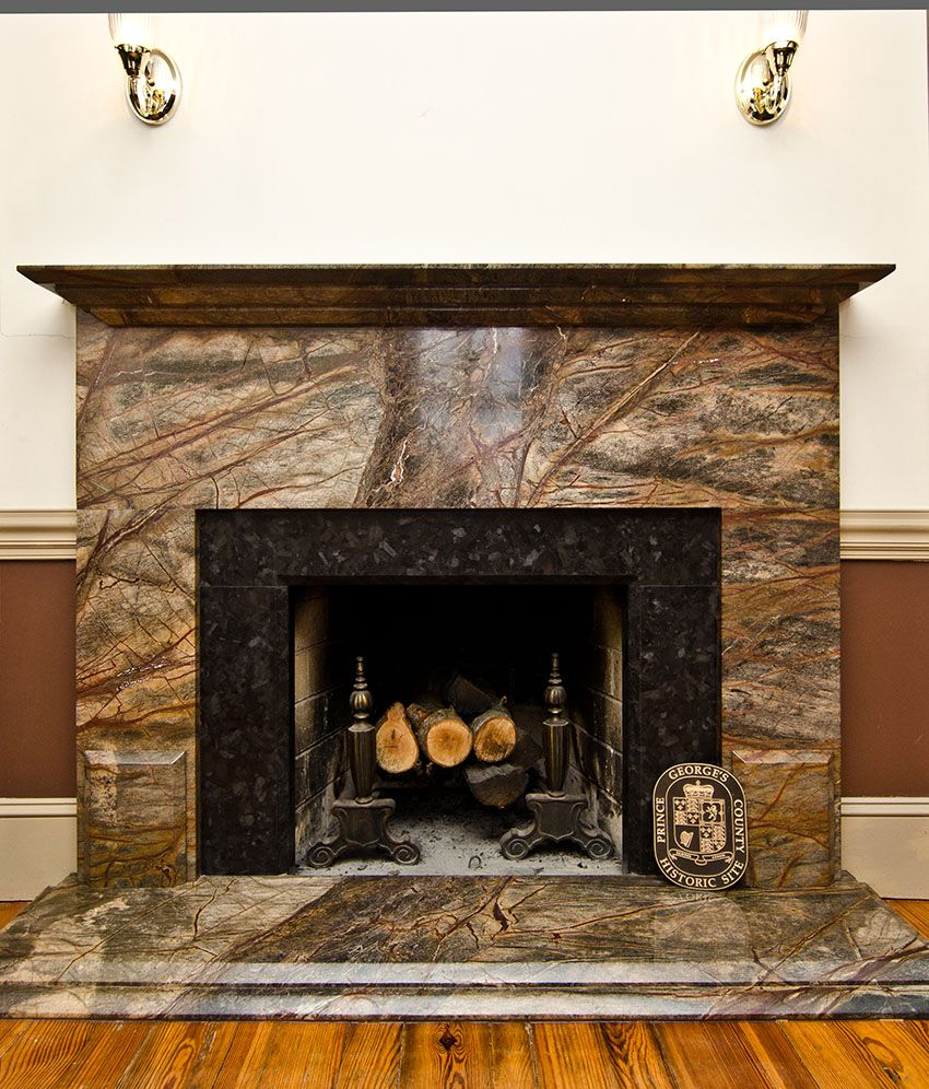 Before After Rainforest Green Granite Fireplace Surround