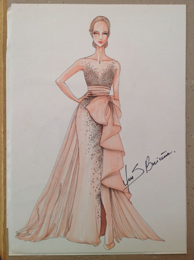 Pin By Sheem On Abayas Fashion Illustration Dresses Dress Illustration Fashion Illustration Sketches Dresses