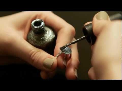Nail Polish Ring. So cute!