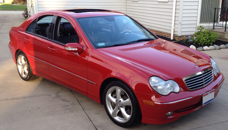 2004 c230 kompressor red mercedes pinterest mercedes for Mercedes benz c230 amg