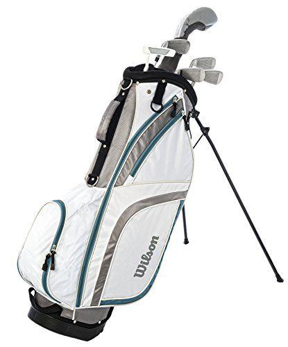 Womens Left Handed Golf Clubs >> Uk Golf Gear Wilson Prostaff Hdx Left Handed Women S Golf Half Set