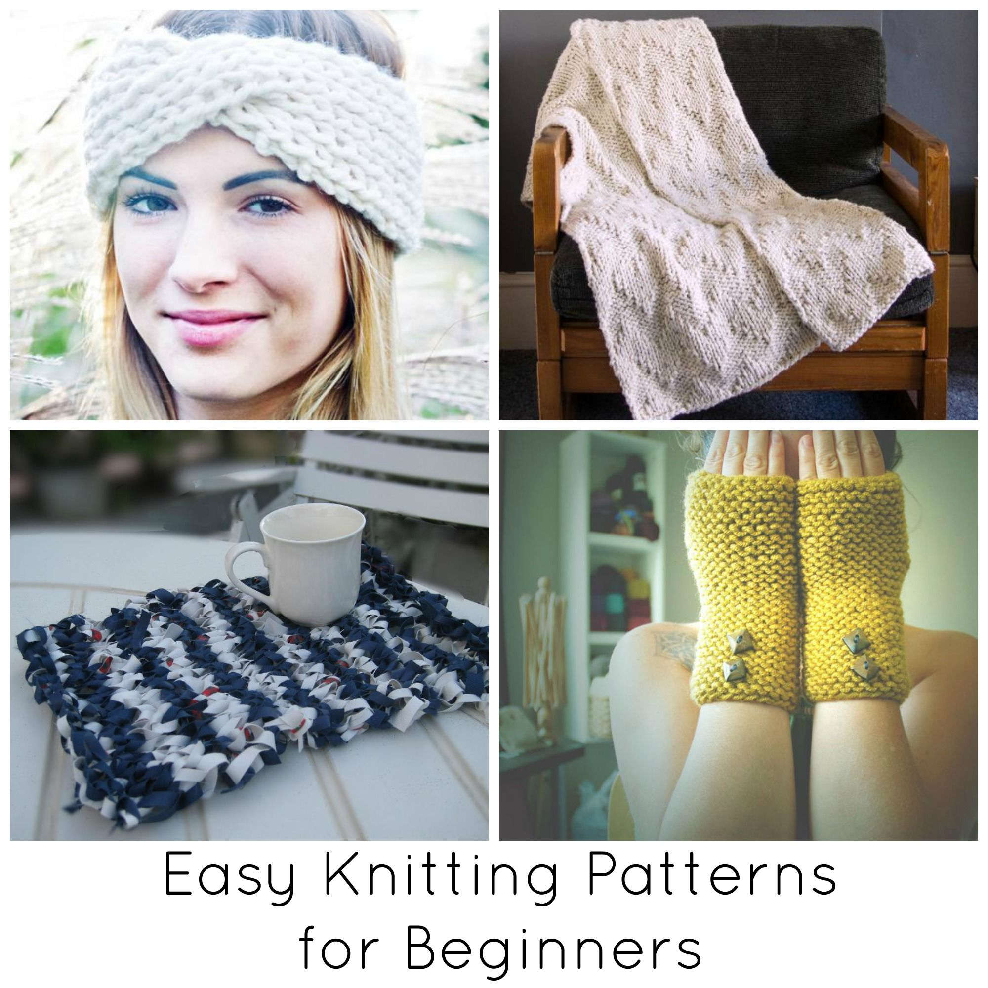 Easy Knitting Patterns for Beginners Beyond Scarves