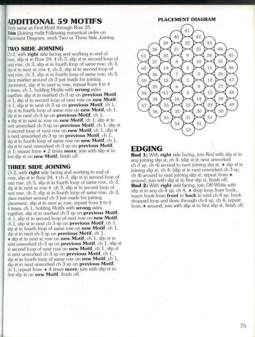 Free Pattern: Crochet Peppermint Aftgan | Crochet patrones ...