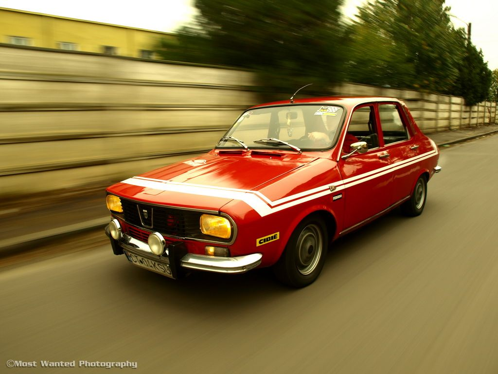 A stunning looking Dacia 1300, my very first car!