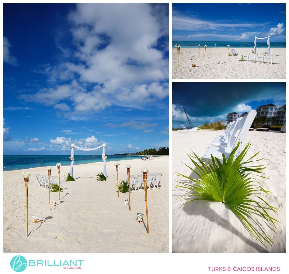 Gansevoort Wedding Set Up Turks And Caicos Islands Brilliant Studios Photography