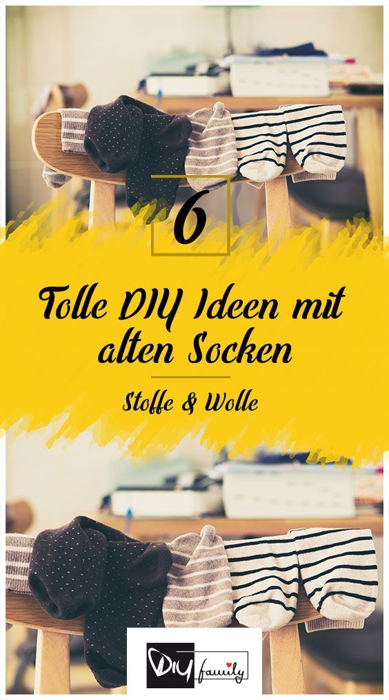 Photo of Upcycling – 6 tolle DIY-Ideen für eure alten Socken – DIY-Family