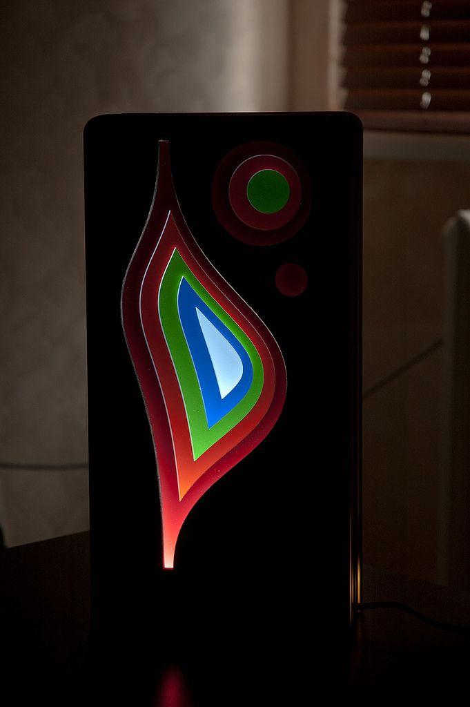 LED lamp made of plywood | da David Bayramyan