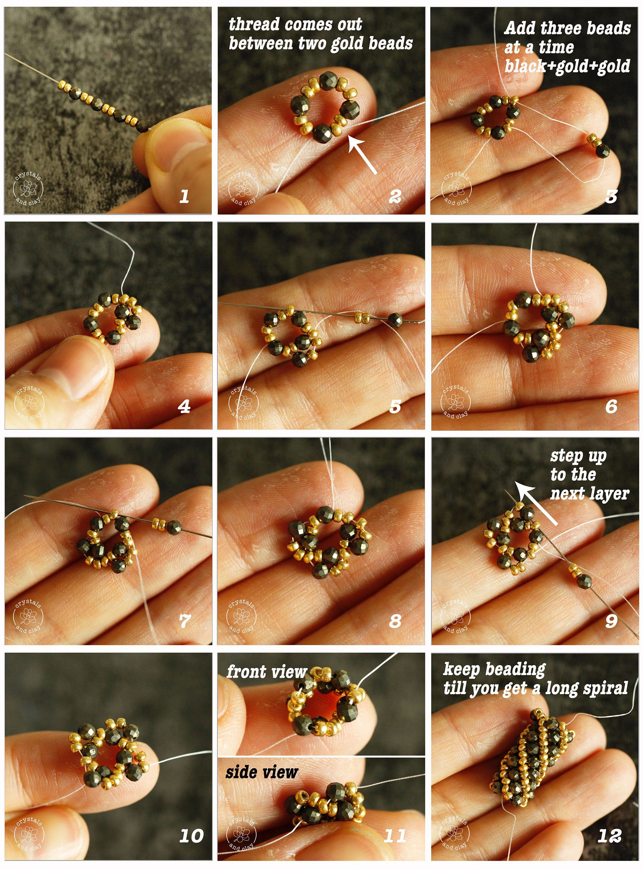 Photo of How to make a beaded spiral bracelet