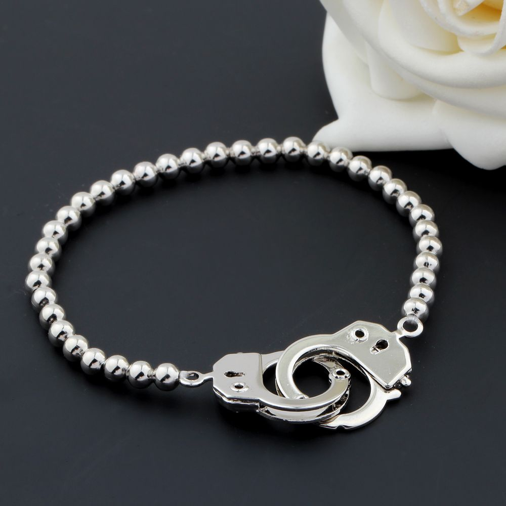 Charm Bracelet Quality New Directly From China Suppliers Women Men Silver Handcuff Buckle Elastic Copper Beads