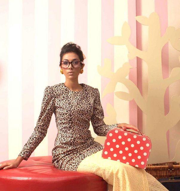 Leopard print baju kurung top! I MUST HAVE THIS!