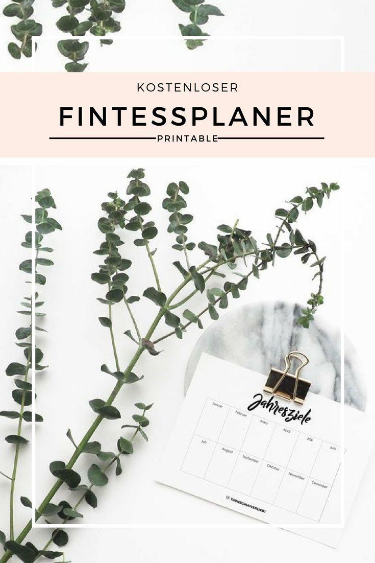 Fitnessplaner kostenlos zum Ausdrucken | Planung Ernährung ...