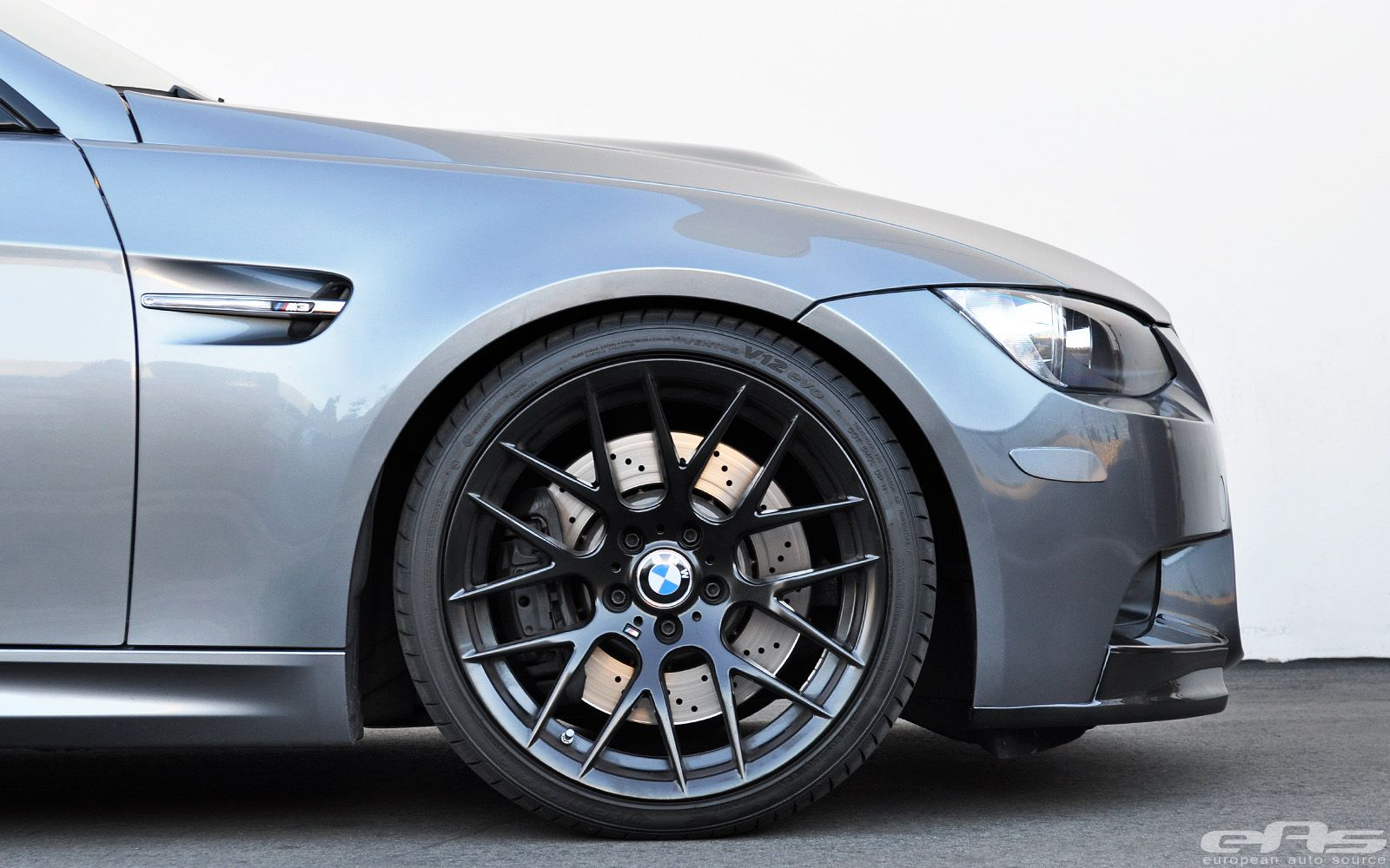 Clean Space Gray M3 Gets Supercharged | BMW wheels | Bmw
