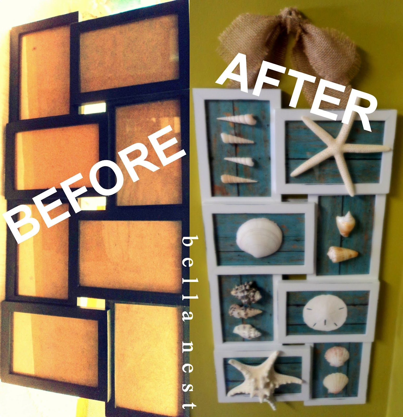 Show Off Your Seashells Beach Theme Decor Shell Crafts Beach Diy