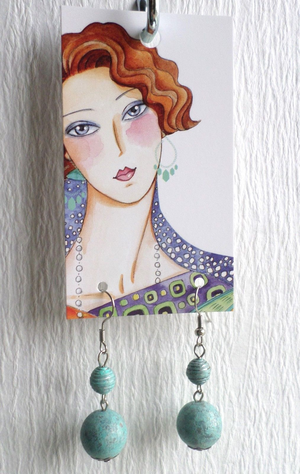 Boutique Earrings Display Holder Hang Tags Fine Fashion Jewelry 60 Pretty Ebay