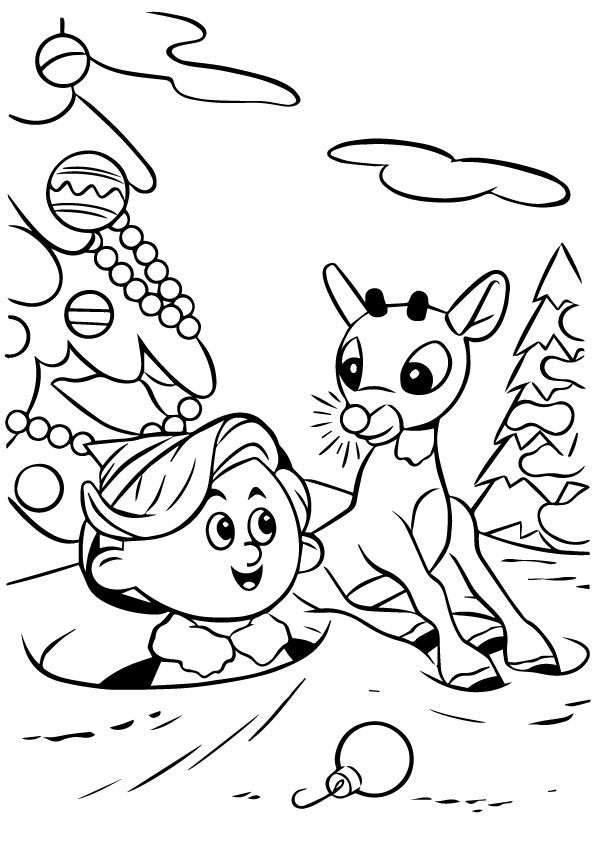 Click Share This Story On Facebook Rudolph Coloring Pages Christmas Coloring Sheets Coloring Pages