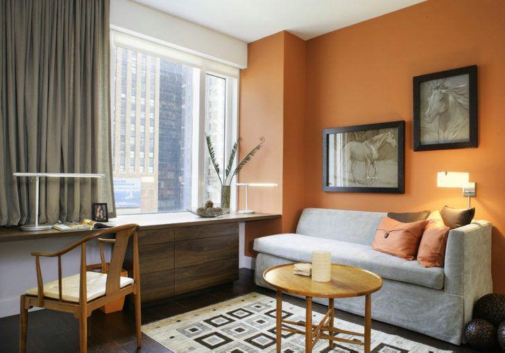 El Calabaza Es Un Color Naranja Delicado Que Es Especial Para Pintar O Decorar Una Co Decoracion De Interiores Diseño De Interiores Salas Pintura De Interiores