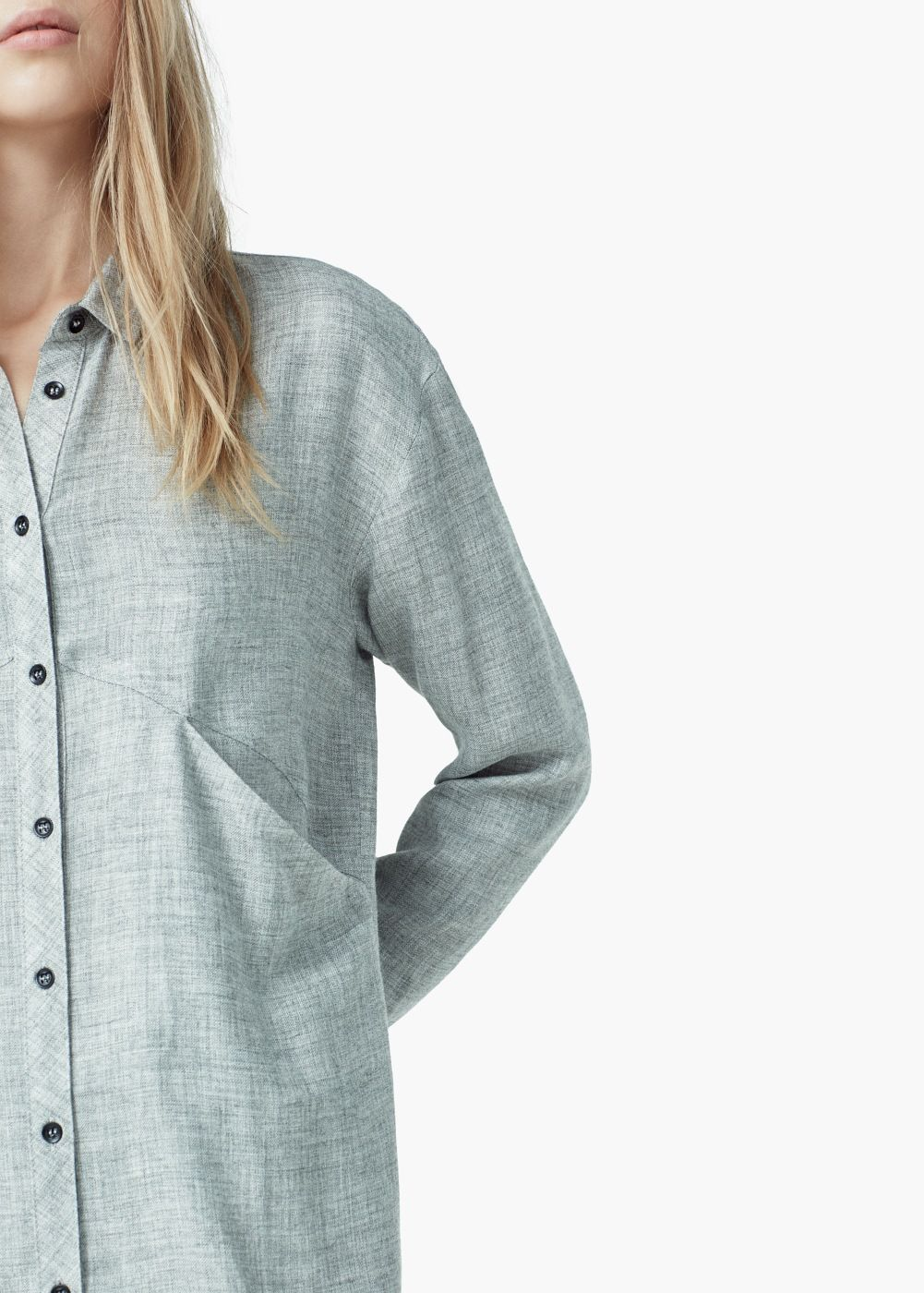Camisa bolsillos