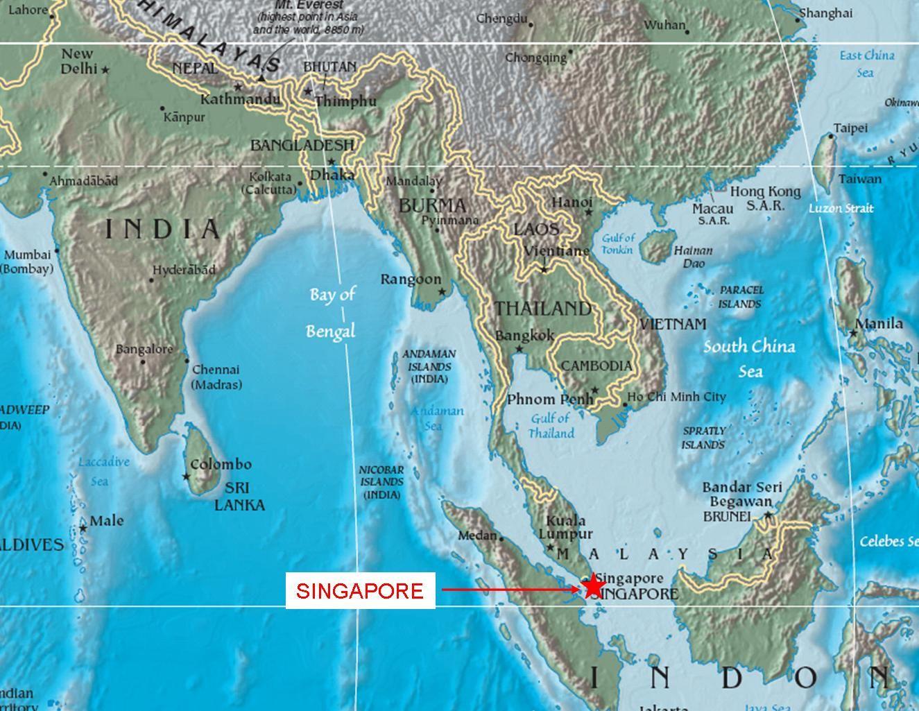 Singapore images myth 2 singaporeans dont speak english world map showing singapore gumiabroncs Gallery
