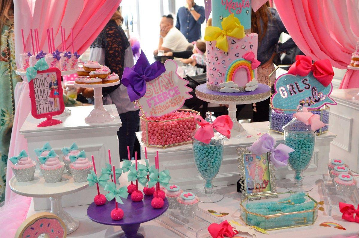 Jojo siwa bow birthday party ideas highlights jojo