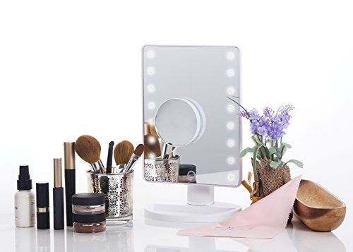 Beautella Led Vanity Mirror Led Lighted Movable Vanity Mirror