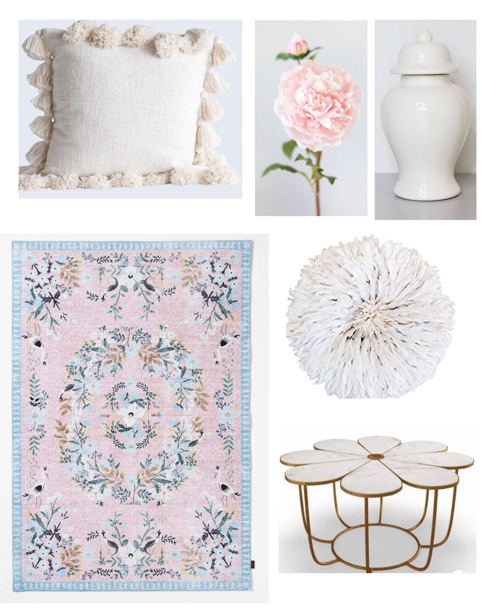 Pink home decor. Femine home decor. Spring and summer home decor. #home #homedecor #homedecorideas #masterbedroom #bedroom #bedroomdecor #livingroom #livingroomdecor #coffeetable #rugs #jujuhat #throwpillows #gingerjars #peonies #pinkpeonies #pinkhomedecor