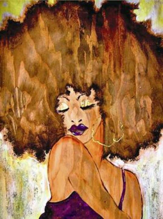 Image result for afro painting shrug