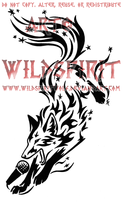 Flame Sparkle Fox Tattoo by WildSpiritWolf deviantart com on