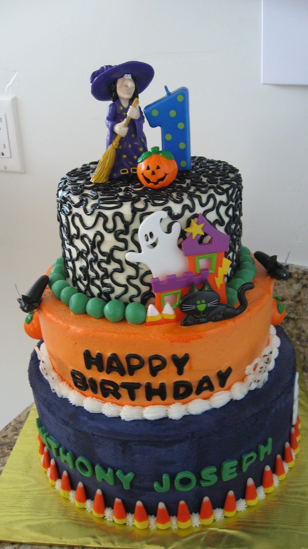 halloween birthday cakes for kids | Halloween Birthday ...