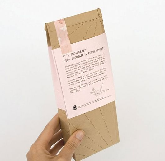 This is Origami : Lovely Package . Curating the very best packaging design. — Designspiration
