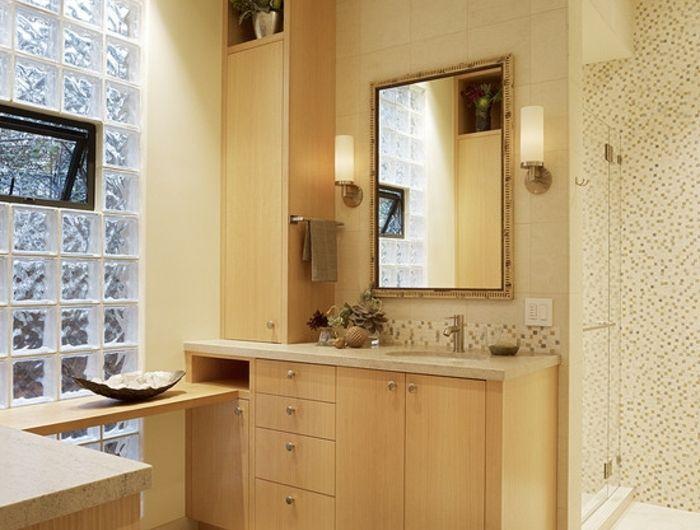 Mettons des briques de verre dans la salle de bains SSB Pinterest