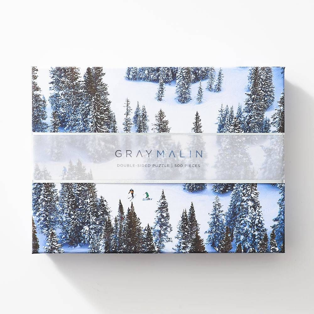 Gray Malin Snow Ski Puzzle Paper Source In 2020 Snow Skiing Gray Malin Puzzle