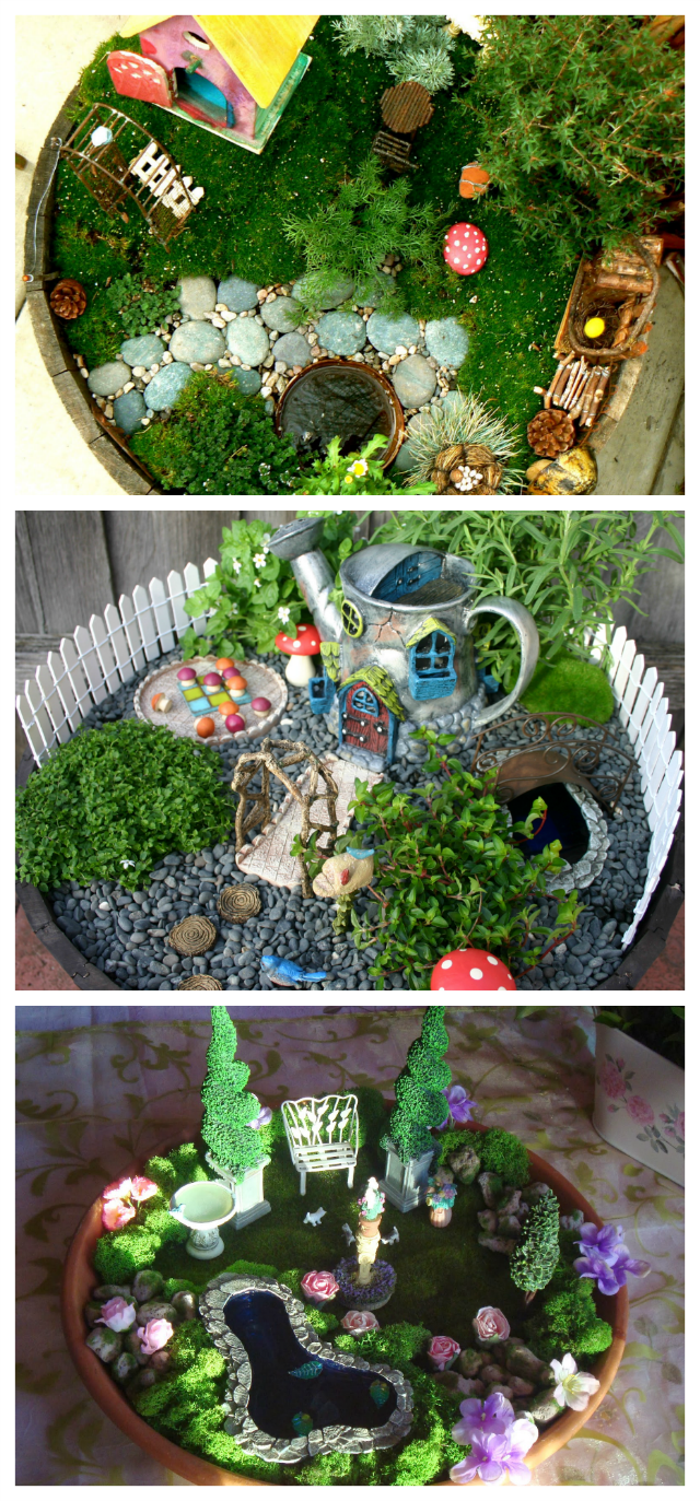 Beautiful Indoor Fairy Gardens Kids Can Play With