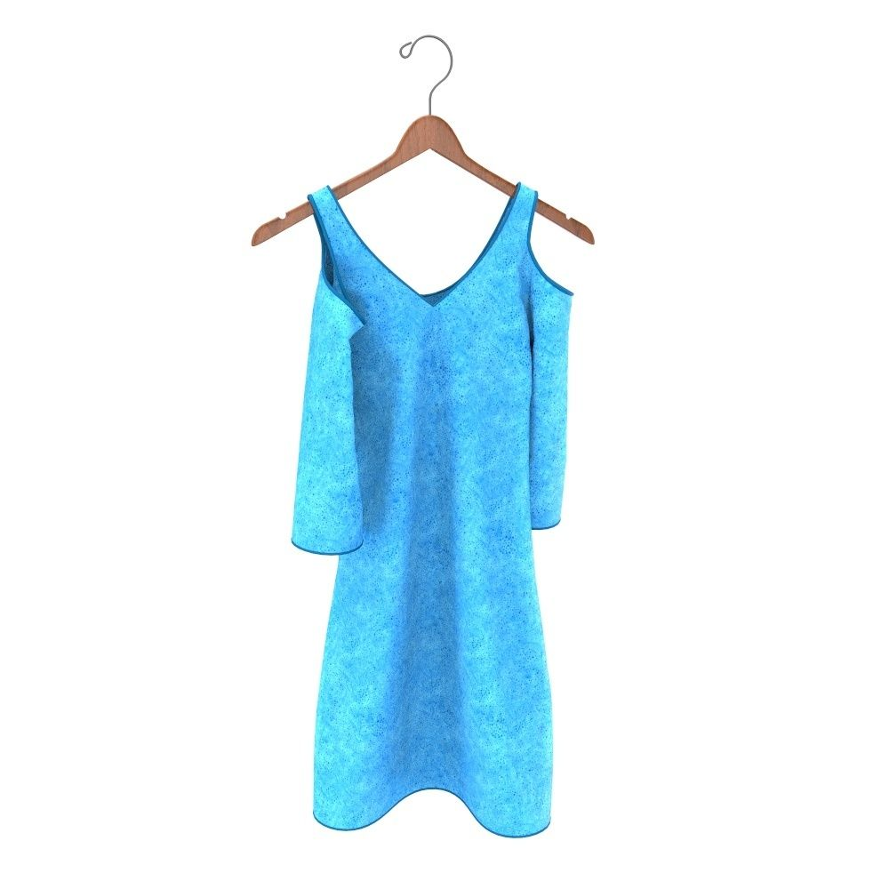 free hanging dress 3d clothing model free download get