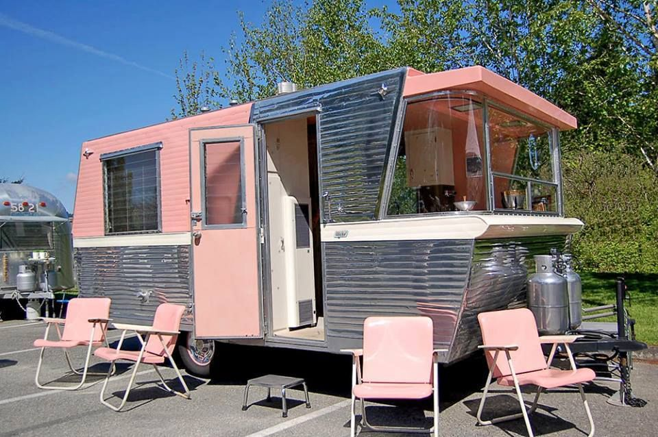 Mobile Home Remodeling Ideas Vintage Mobile Home - For Inspiration! with the Mid Century Modern (Retro) Craze going on many people are downsizing and remodeling Vintage Mobile Homes.