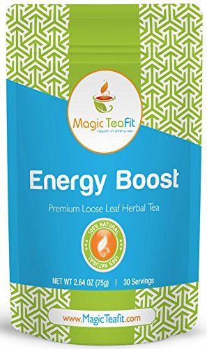 Teas for energy boost
