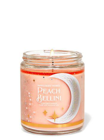 Bath & Body Works Peach Bellini Single Wick Candle