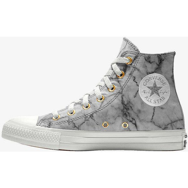 278a308c3ea5 Converse Custom Chuck Taylor All Star Marble High Top Shoe ( 80) ❤ liked on  Polyvore featuring shoes
