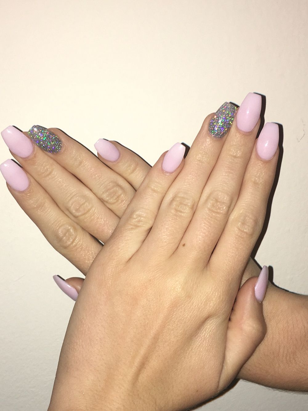 Ballerina/ coffin nails #ballerina #nails #coffin #shape #minimal ...