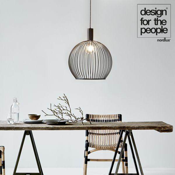 Designer Pendelleuchte Aver, E27, by Carlo Volf Designers - wohnzimmer dekorieren schwarz