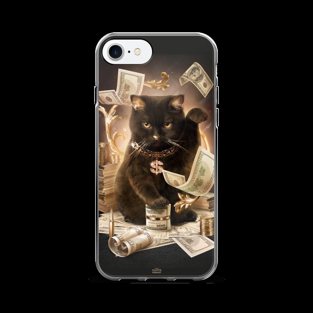 Gold Fortune Cat iPhone Case Cats iphone cases, Iphone