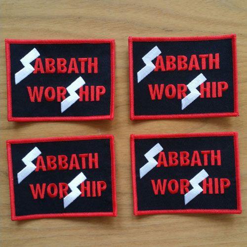 Sabbath-Worship-Patch-Web | Church of Rock & Roll | Pinterest