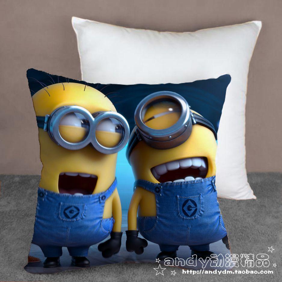 One Pieces Despicable Me 2 Minions Cartoon Cushion Bedding Set Home
